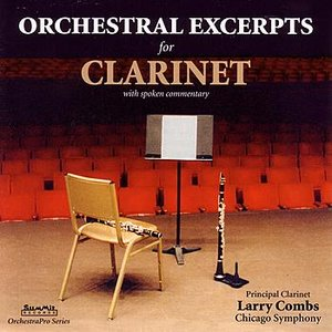 Image for 'Orchestral Excerpts for Clarinet'