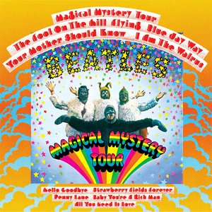 """Magical Mystery Tour""的封面"