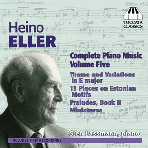 Image for 'Eller: Complete Piano Works, Vol. 5'