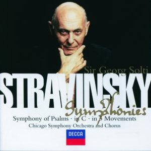 Image for 'Stravinsky: Symphony in C/Symphony in 3 Movements/Symphonie de Psaumes'