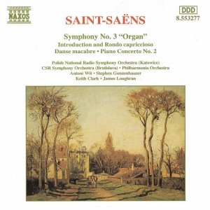 Image for 'SAINT-SAENS: Symphony No. 3 / Piano Concerto No. 2'