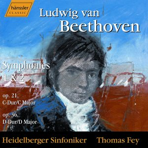 Image for 'Beethoven: Symphonies Nos. 1 and 2'