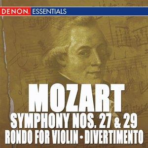 Image for 'Mozart: Symphony Nos. 27 & 29 - Rondo for Orchestra - Divertimento, KV 137'