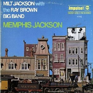 Immagine per 'Milt Jackson with the Ray Brown Big Band'