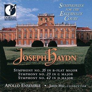 Image for 'Symphonies for the Esterházy Court -Joseph Haydn'