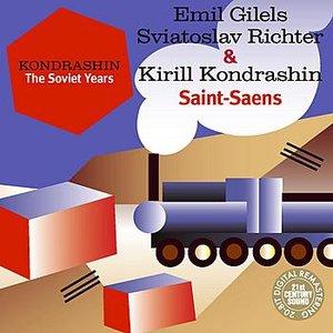 Imagem de 'Kondrashin: The Soviet Years. E. Gilels, S. Richter & K. Kondrashin - Saint-Saens'