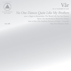 Image for 'No One Dances Quite Like My Brothers'