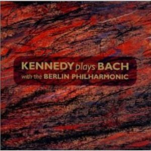 Image for 'Kennedy Plays Bach (With The Berlin Philharmonic Orchestra)'