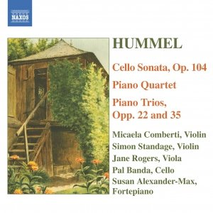 Image for 'HUMMEL: Piano Trios / Piano Quartet in G major / Cello Sonata'