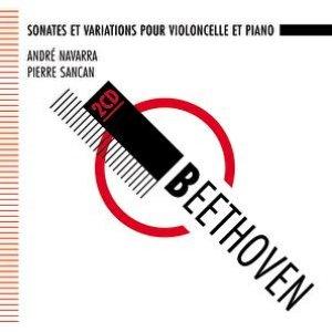 Image for 'Beethoven : Sonates pour violoncelle et piano - Navarra, Sancan'
