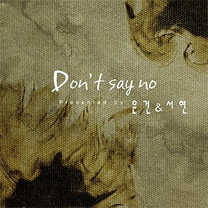 Image for 'Don't Say No'