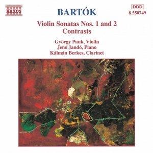 Image for 'BARTOK: Violin Sonatas Nos. 1 and 2 / Contrasts'
