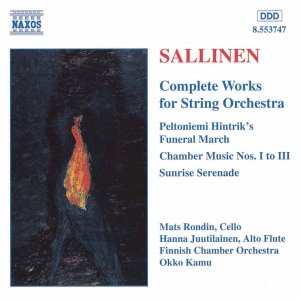 Image for 'SALLINEN: Works for String Orchestra (Complete)'