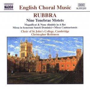 Image for 'RUBBRA: Nine Tenebrae Motets / Magnificat and Nunc Dimittis'