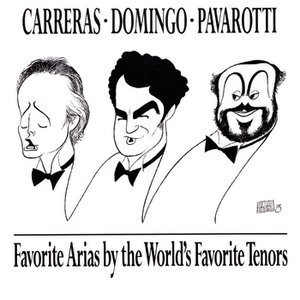 Bild för 'Favorite Arias by the World's Favorite Tenors'