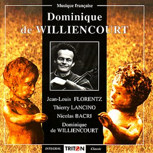 """Image for 'Florentz: L'Ange du Tamaris - Lancino: Sonate pour violoncelle seul - Bacri: Suite Op. 31, No. 1 """"Preludio Matmorfosi"""" - de Will'"""