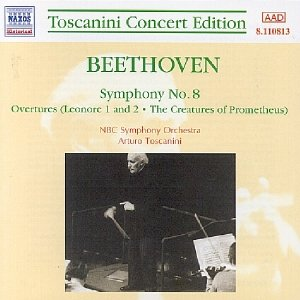 Image for 'BEETHOVEN: Symphony No. 8 / Leonora Overtures (Toscanini Concert Edition)'