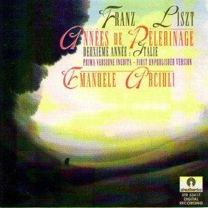 Image for 'Franz Liszt : Années De Pelerinage (Deuxième année : Italie)'