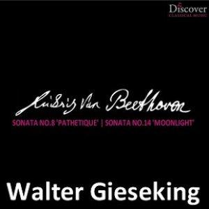 """Imagem de 'Beethoven: Sonata No. 8 """"Pathetique"""", Sonata No. 14 """"Moonlight""""'"""