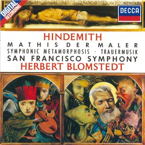 Image for 'Hindemith: Symphonie 'Mathis der Maler' / Trauermusik / Symphonic Metamorphosis'
