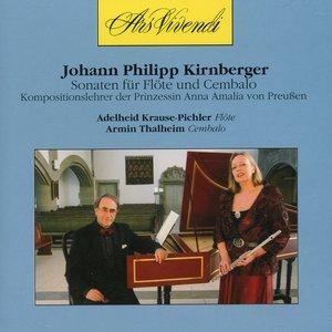 Image for 'Kirnberger: Sonaten fur Flote und Cembalo'