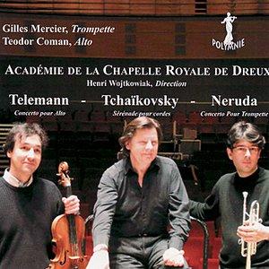 Image for 'Neruda: Concerto pour Trompette - Telemann: Concerto pour Alto - Tchaikovsky: Sérénade pour Cordes'