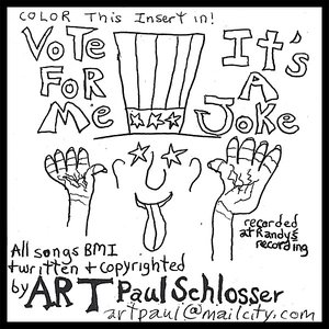 Image for 'Vote for Me/It's a Joke'