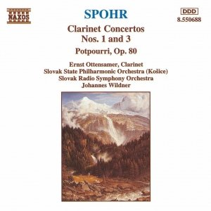 Image for 'SPOHR: Clarinet Concertos Nos. 1 and 3 / Potpourri, Op. 80'