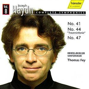 Image for 'Joseph Haydn: Complete Symphonies Vol. 8 - No. 41, 44 & 47'