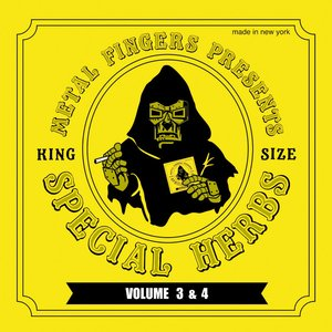 Imagem de 'Metal Fingers Presents: Special Herbs Vol. 3 & 4'
