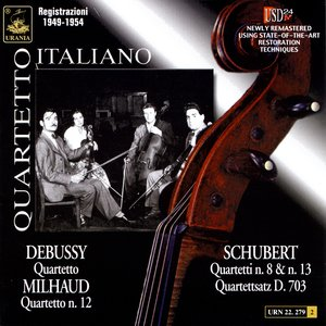 Image for 'Schubert / Debussy / Milhaud'