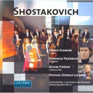 Image for 'Shostakovich: Piano Concerto No. 1 / 24 Preludes and Fugues / String Quartet No. 8 (Arr. for String Orchestra)'