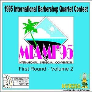 Image for '1995 International Barbershop Quartet Contest - First Round - Volume 2'