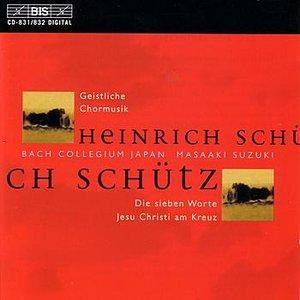 Image for 'SCHUTZ: Geistliche Chormusik, Op. 11'