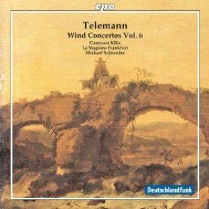 Image for 'Telemann: Wind Concertos, Vol. 6'