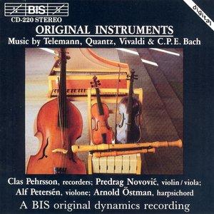 Image for 'Telemann / Quantz / Vivaldi / Bach, C.P.E.: Chamber Music for Recorder'