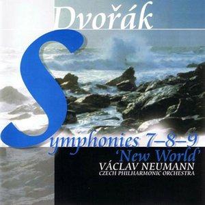 Bild för 'Symphonies No.7, 8 & 9 (Czech Philharmonic Orchestra, Václav Neumann)'