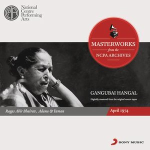 Image for 'From the NCPA Archives - Gangubai Hangal'
