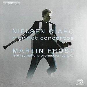 Image for 'NIELSEN / AHO: Clarinet Concertos'