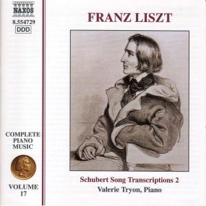 Image for 'LISZT: Schubert Song Transcriptions 2'