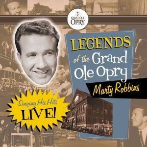 Image pour 'Legends of the Grand Ole Opry: Marty Robbins Sings His Hits'