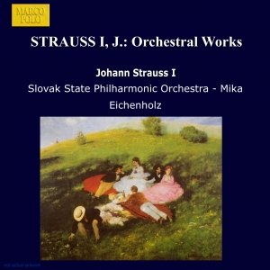 Image for 'STRAUSS I, J.: Orchestral Works'