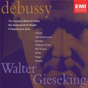Bild för 'The Complete Works for Piano (Walter Gieseking) (disc 3)'