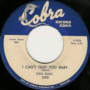 Image for 'I Can't Quit You Baby'