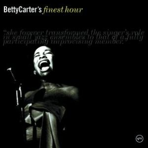 """Betty Carter's Finest Hour""的封面"