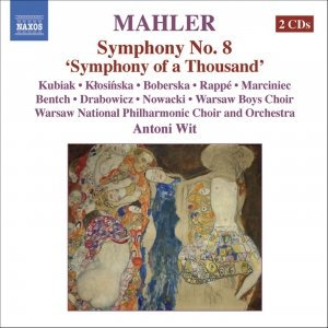 "Bild för 'MAHLER: Symphony No. 8, ""Symphony of a Thousand""'"
