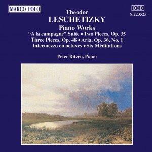 Image for 'LESCHETIZKY: Piano Works'
