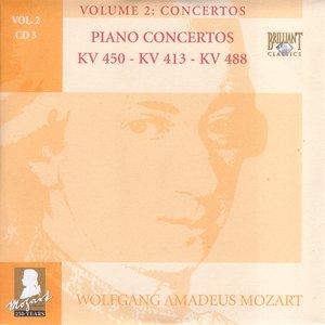 Imagen de 'Piano Concertos KV 450 - KV 413 - KV 488'