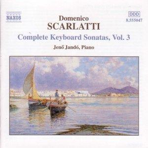 Imagem de 'SCARLATTI, D.: Keyboard Sonatas, Vol. 3'