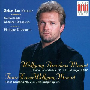 Image for 'Mozart, W.A.: Piano Concerto No. 22 / Mozart, F.X.: Piano Concerto No. 2'